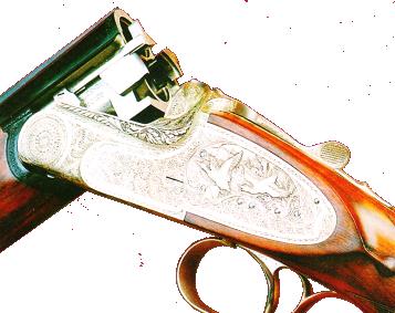 Узел запирания стволов охотничьего ружья МЦ 109